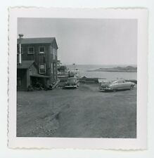 A dock at North Sydney Nova Scotia  S.S Aspy 1955 Vintage Snapshot photo