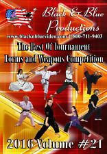 2016 Best Tournament Forms and Weapons Competitions Volume 21