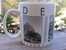Starbucks~Detroit~Barista~City Scenes~2005~Coffee Mug~Over Sized