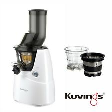Kuvings Whole Slow Juicer B6000W Weiß  inkl. Eiscreme & Smoothies Set 60 U/min