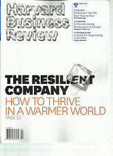 HARVARD BUSINESS REVIEW,  APRIL, 2014  (  THE RESILIENT COMPANY HOW TO THRIVE IN