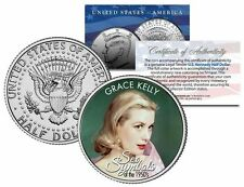 GRACE KELLY  * 1950s Sex Symbol * - Colorized JFK Kennedy Half Dollar US Coin