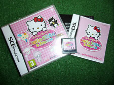 NINTENDO DS NDS DSL DSi GAME Loving Life With Hello Kitty & Friends COMPLETE GWO