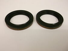 Ford Fiesta  Fusion 5 sp IB5 gearbox diff drive shaft genuine oil seals, pair