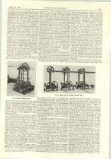 1915 Papermaking Fourdrinier Machine Whites Driving Gear