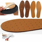 2 x PAIR OF ULTRA COMFORTABLE LEATHER INSOLE CUT TO SIZE UNISEX INNER SOLE SHOES