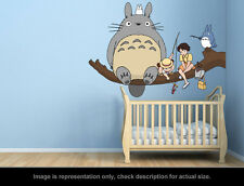 Ghibli Totoro - Fishing Wall Art Applique Sticker