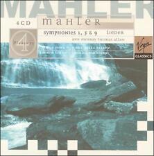 Mahler: Symphonies # 1, 5 & 9, Des Knaben Wunderhorn, Lieder eines Fahrenden - C