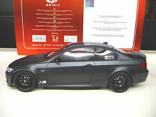 1:18 GT BMW M3 GTS Black Edition Carbon E92 NEW SHIPPING FREE