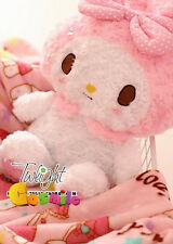 Kawaii Bowknot My Melody Kitty Doll Plush Toy Blanket Cos Gift