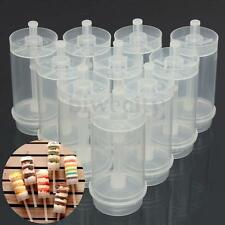 10Pcs Plastic Clear Push Up Pop Cake Containers Lids Shooters For Birthday Party