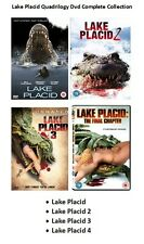 LAKE PLACID QUADRILOGY DVD PART 1 2 3 4 MOVIE FILM Brand New Sealed UK Release