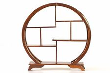 Asian Chinese Red Wooden Display Shelf / Stand