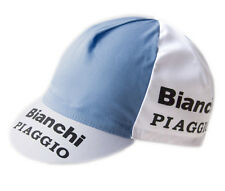 Bianchi Retro Team Cotton Cycling Cap Italian made L'Eroica