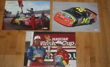 1990's Jeff Gordon Competitive Motorsports NASCAR 5x7 Postcard Lot