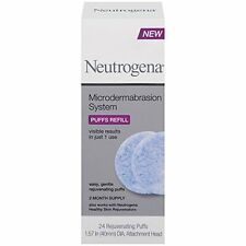 Neutrogena Microdermabrasion System Puff Refills, 24 Count Each