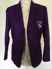 Daiglen School Uniform Blazer by John Lewis Wool Unisex Size 30'/ 8 Brand New