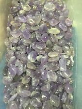 1lb Wholesale Tumbled Amethyst Polished Stones Reiki Pocket Crystals Bulk