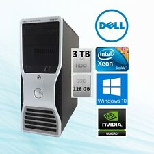 Dell Precision T3500 Workstation Xeon 3.06Ghz 12GB 128 GB SSD + 2TB Win 10 64Bit
