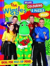 The Wiggles Deluxe Colouring & Puzzle Book