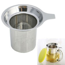 Reusable Tea Infuser Strainer Loose Tea Leaf Spice Filter Stainless Steel Mesh