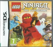 LEGO NinjaGo the Videogame  (Nintendo DS)  (plays 3ds in 2D)