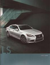 2013 13 Lexus LS  original sales brochure