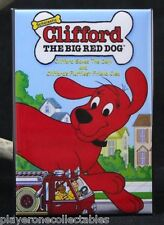 "Clifford the Big Red Dog Book Cover 2"" x 3"" Fridge / Locker Magnet."