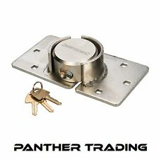 Silverline Heavy Duty Van Lock & Hasp 73mm With 6 Pin Brass Lock - 633786