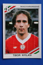 Panini WC MEXICO 86 STICKER N. 214 MAGYARORSZAG NYLASI WITH BACK VERY GOOD/MINT