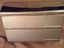 Vintage Lincoln Beautyware Aluminum Foil Waxed Paper Towel Dispenser Holder