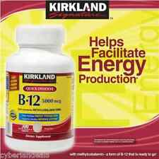 KIRKLAND SIGNATURE VITAMIN B-12 / 5000 mcg 300 QUICK DISSOLVE TABLETS CHERRY