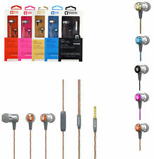 Genuine EX210 In ear Metal Handsfree Headphone For HTC One M9,A9,M8,Mini,Mini 2