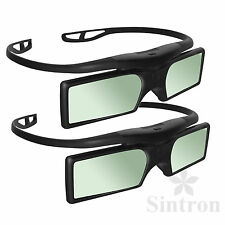[Sintron] 2X 3D Active Glasses for 2015 Panasonic 3D TV TH-50CX740A TH-55CX740A