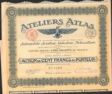 DECO =  ATELIERS ATLAS, Automobile, Avion, Industrie, Motoculture (H)