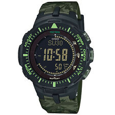 Casio Protrek PRG-300CM-3 PRG-300CM Battery Level Indicator Watch Brand New