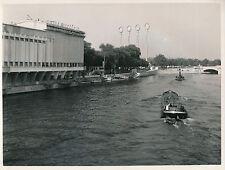 PARIS c. 1937 -   Exposition La Radio  Péniche sur la Seine  - DIV 8160