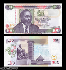Kenya 100 Shillings 2006 P-48b Mint UNC Uncirculated Banknotes