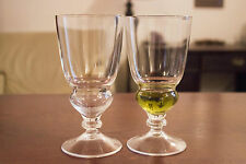 HANDCRAFTED ABSINTHE GLASS 1907 SET OF 2