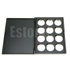 New 12 Empty Makeup Magnetic Removable Aluminum Eyeshadow Palette Pans 26mm