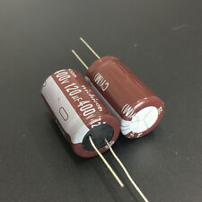 2pcs 120uF 400V Nichicon CY 18x31.5mm 400V120uF long life Capacitor