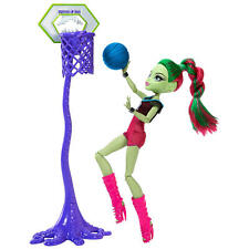 Monster High Casketball Champ Venus Mcflytrap Muñeca - DXY08