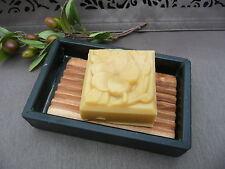 Seifenschale Seifenablage Schiefer mit Olivenholz