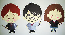 Harry Potter and Friends Paper Die Cut Paper Dolls Scrapbook Embellishment