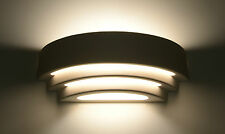 Light Modern LAMP LED ready E-27 Ceramic Sconce Made In Eu HOME OFFICE - MODERNO