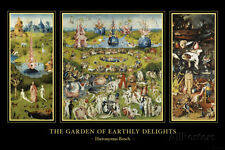 The Garden of Earthly Delights, c.1504 Art Print By Hieronymus Bosch - 36x24