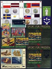 UN . VIENNA . 2008 Year Set . 15 Stamps & 5 Sheets . Mint Never Hinged