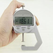 0-25.4MM 0.01mm Digital Rubber Paper Thickness Measuring Gauge Caliper 40141553