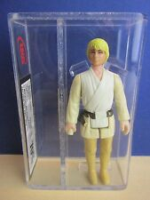 M HILT star wars LUKE SKYWALKER farmboy ACTION FIGURE UKG not AFA vintage G31