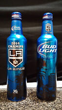 Bud Light LA Kings 2014 Stanley Cup Champs Aluminum Beer Bottle Limited Edition!